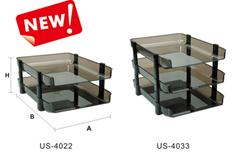 Folding Style File Tray(PS Material)